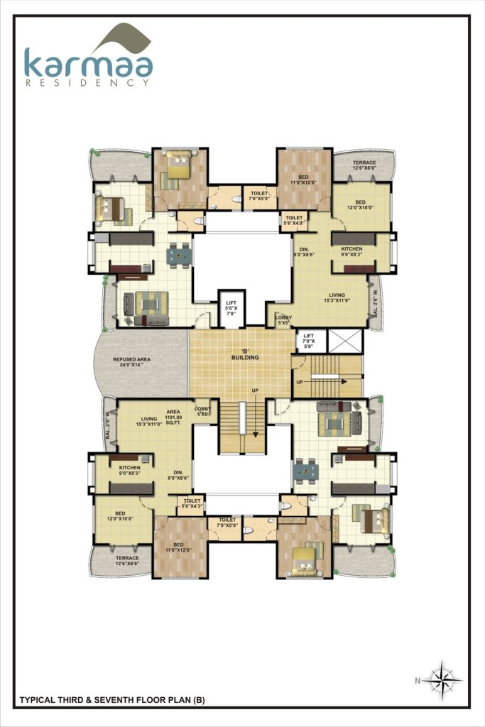 Karmaa Residency Map